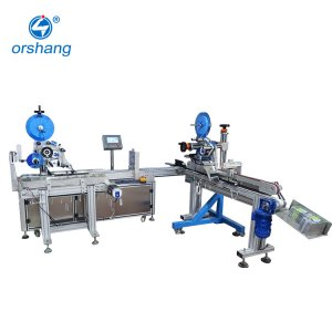 Fully Automatic Mobile Phone Shell Corner Labeling Machine A